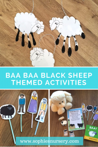 Baa-rillant EASY Themed Activities for Toddlers: Baa-Baa Black Sheep