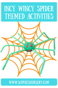 Fun For Toddlers: Incy Wincy Spider Themed Activities