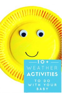 Brilliant & EASY Themed Activities For Babies: Weather