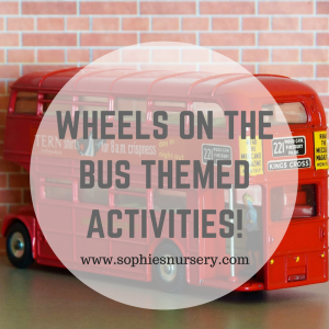 The Wheels on the Bus: Road Vehicles Themed Activities!