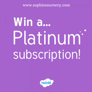 Competition May 2017! Twinkl Platinum Subscription