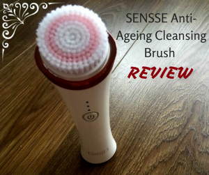 SENSSE Anti-Ageing Cleansing Brush Review