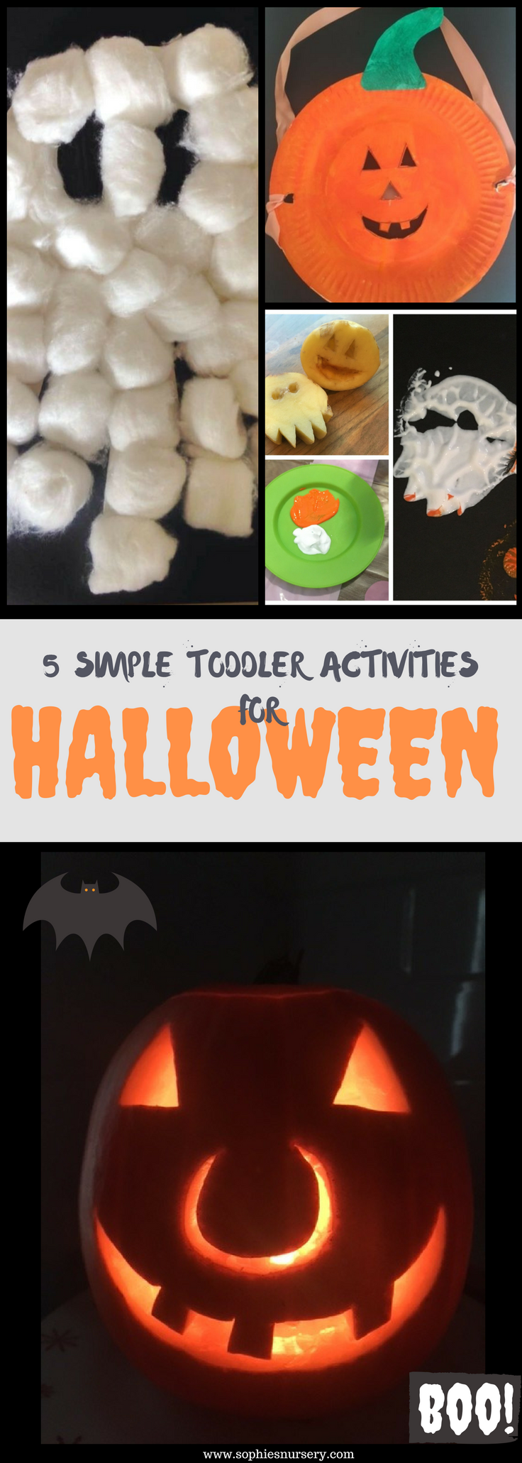 Need some toddler appropriate Halloween ideas? These simple Halloween activities for toddlers & preschool are easy to put together & will provide plenty of fun for young children!