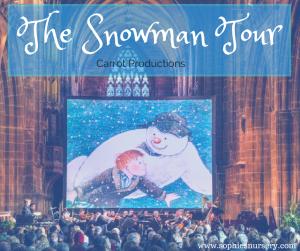 the snowman tour 2017