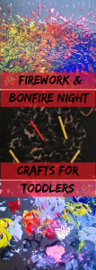 Firework & Bonfire Night Crafts for Toddlers