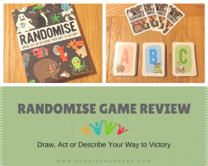 Randomise Game Review – Draw, Act or Describe Your Way to Victory!