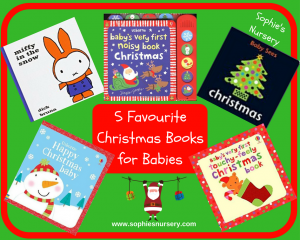 5 Favourite Christmas Books for Babies