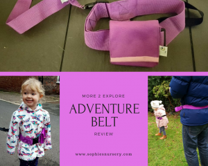 Adventure Belt Review from More 2 Explore: An Alternative to Toddler Reins