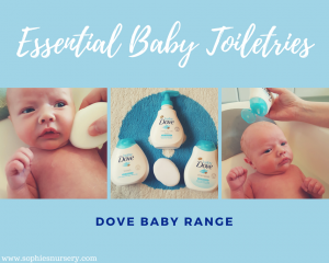 Essential Baby Toiletries: Baby Dove Review