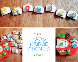 Phonics Toys: LeapFrog – Tad's Fridge Phonics Review