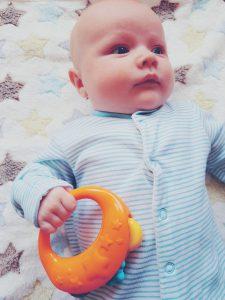 baby development at 3 months