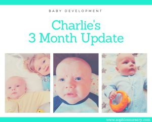 Baby Development at 3 Months Old: Charlie's Monthly Update