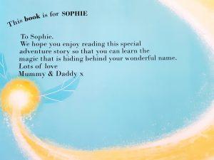 Personalised Name Book