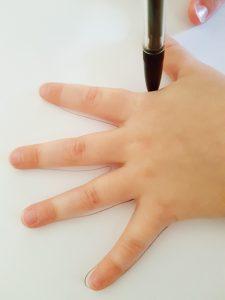 Hand Print Spiders