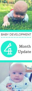 Baby Development at 4 Months Old