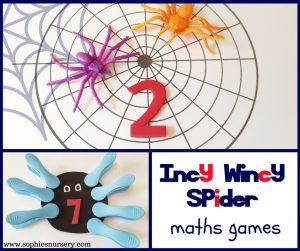 spider maths games