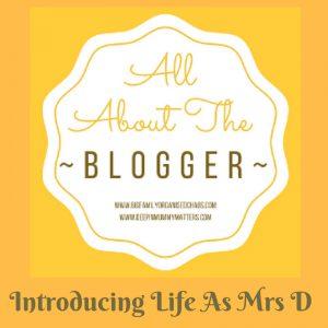 introducing life as mrs d