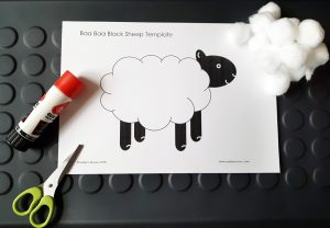 cotton wool sheep