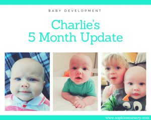 Baby Development at 5 Months Old: Charlie's Monthly Update