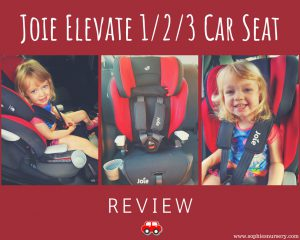 Joie Elevate Group 1/2/3 Car Seat Review