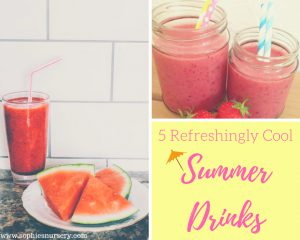 5 Refreshingly Cool Summer Drink Ideas