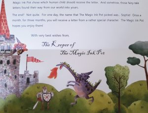 Kids Subscription Box: Personalised Fairy Tale Letters from Magic Inkpot