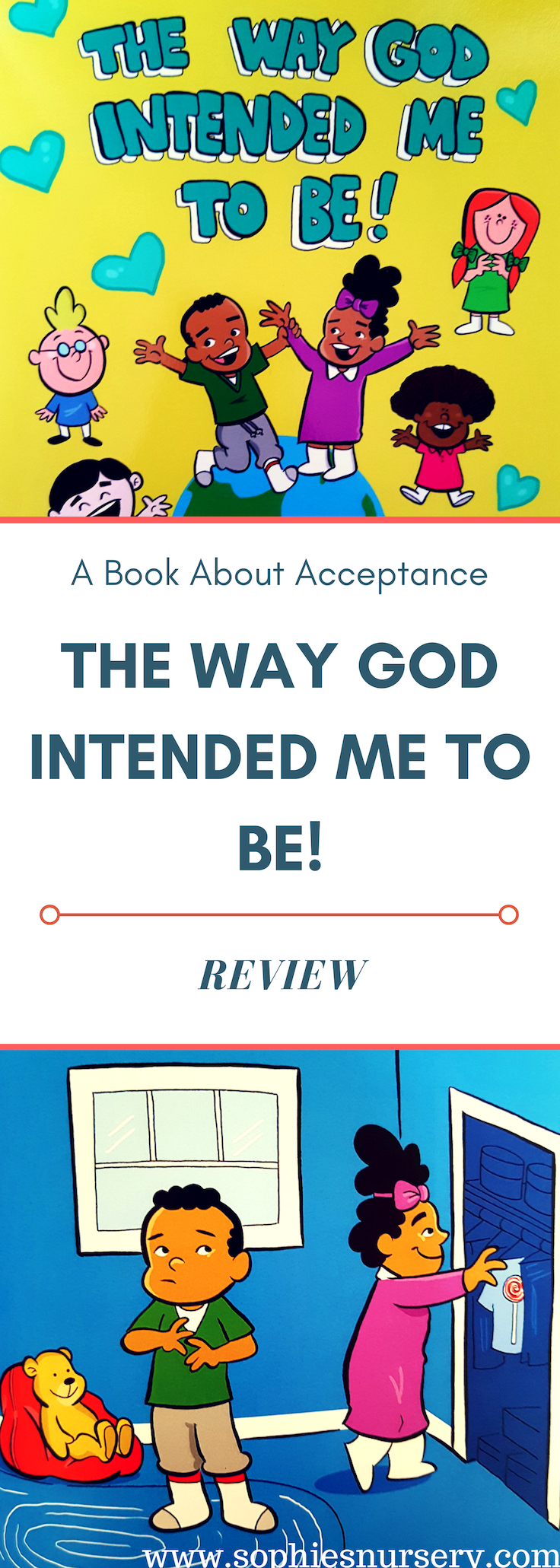 This lovely book about #acceptance tells a simple story that helps young children learn about diversity & understanding.