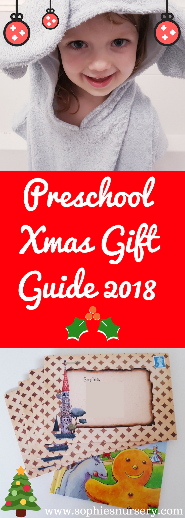 A fabulous selection of more unusual #preschool #Christmas gift ideas from subscription boxes to personalised storybooks. Perfect for Under 5s!  #Christmas2018 #giftideas #ChristmasGiftGuide #subscriptionbox #kidsbooks #personalised
