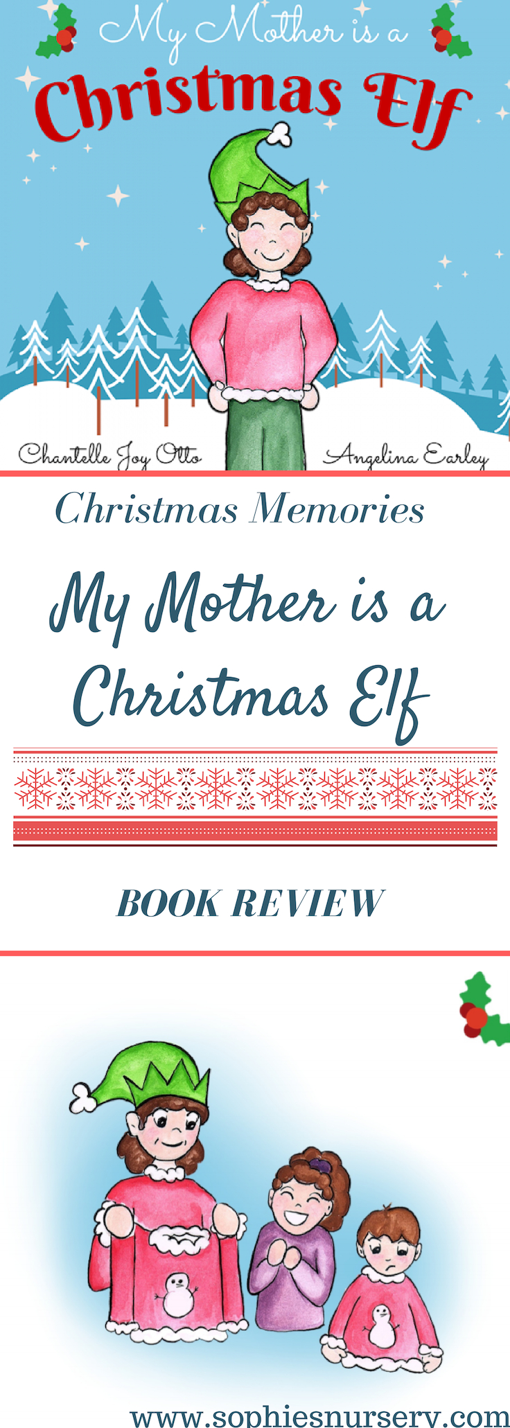 Looking for a new #Christmas book to add to your child's collection? My Mother is a Christmas Elf is a lovely heartwarming story about the way the author's mum made every Christmas magical.  #Christmasbooks #Christmasgifts #kidsbooks #Christmasgiftideas