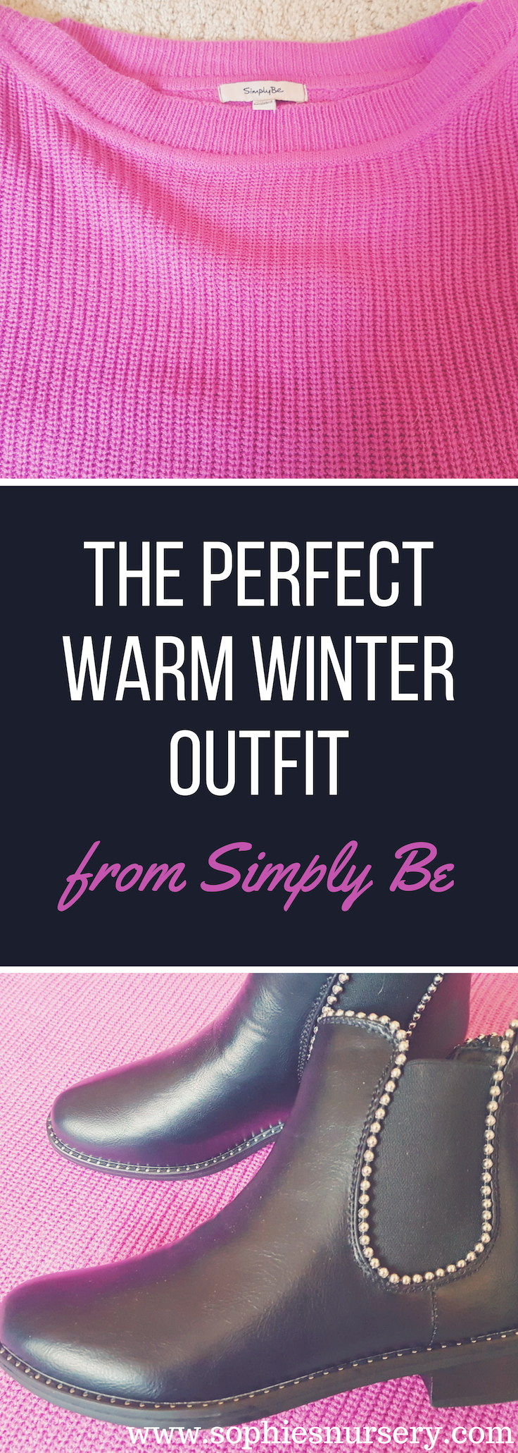 It's super chilly outside so bring on the woolly jumpers & ankle boots! We love this warm winter outfit from @SimplyBe - super cosy & casual!